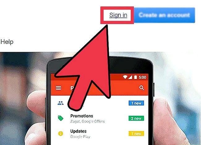Prent getiteld Verander jou naam op Gmail Stap 1