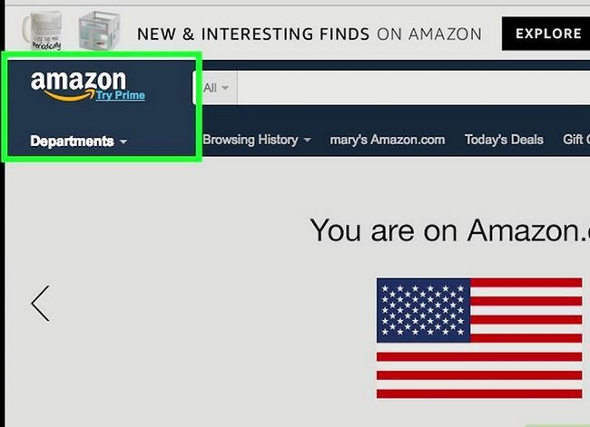 Prent getiteld Verander jou Amazon Smile Charity Stap 8