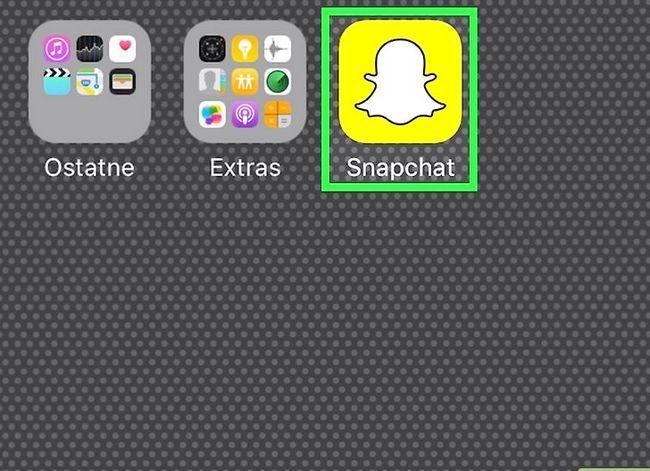 Prent getiteld Verander jou stem op Snapchat Stap 1