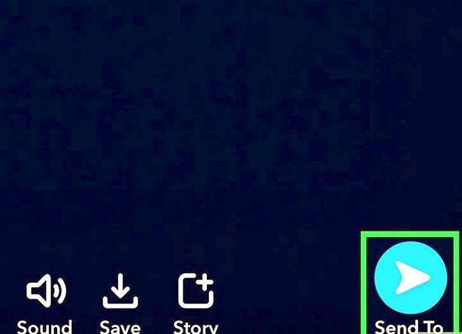Prent getiteld Verander jou stem op Snapchat Stap 8