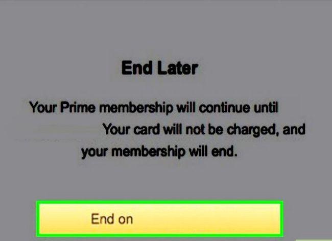 Prent getiteld Kanselleer `n Amazon Prime Free Trial Stap 7