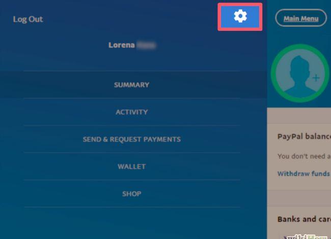 Prent getiteld Kanselleer `n PayPal-inskrywing Stap 4.jpg