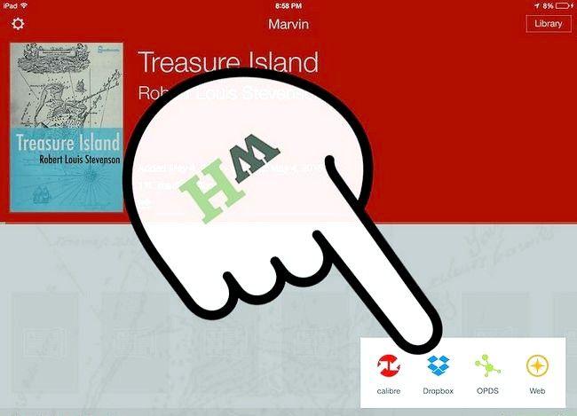 Prent getiteld Laai e-boeke na Marvin uit Dropbox Stap 11