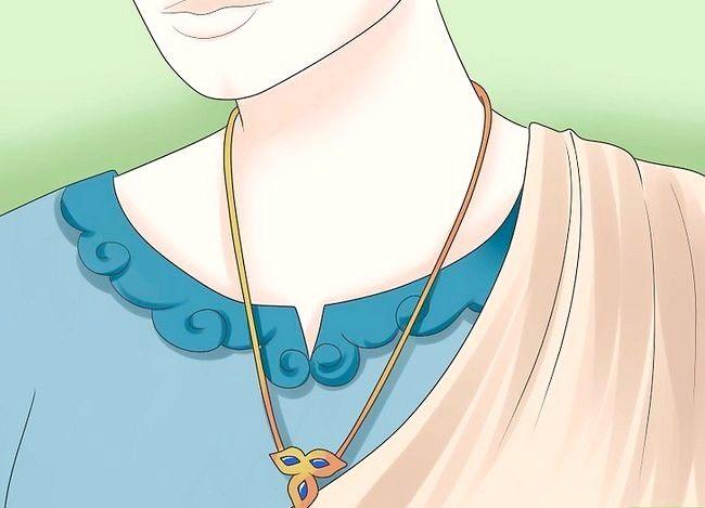 Prent getiteld Vier `n tradisionele Hindoe trou Stap 13