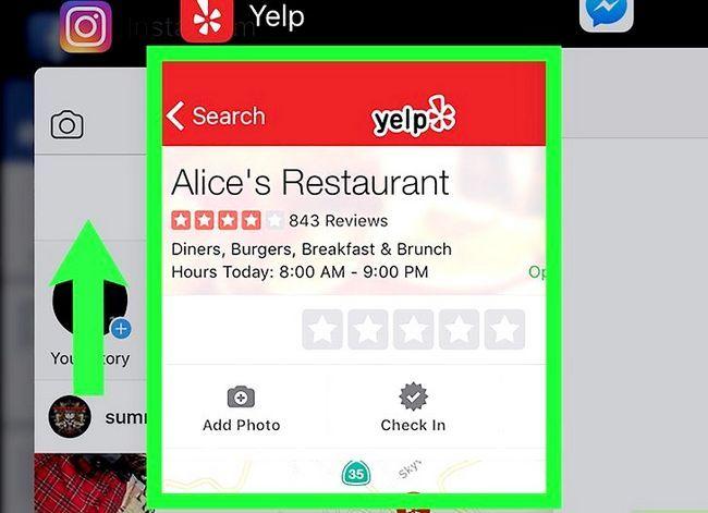 Prent getiteld Sluit iPhone, iPad en iPod Touch Apps Stap 3