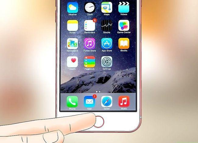 Prent getiteld Gebruik `n iPhone Stap 18
