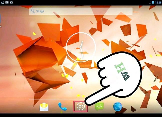Prent getiteld Sluit programme op die Kindle Fire HD Stap 1