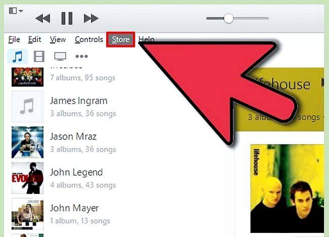 Beeld getiteld Teken uit van iTunes Stap 2