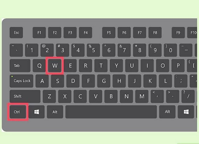Prent getiteld Sluit Windows Stap 2