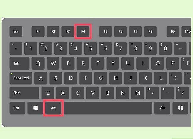 Prent getiteld Sluit Windows Stap 6