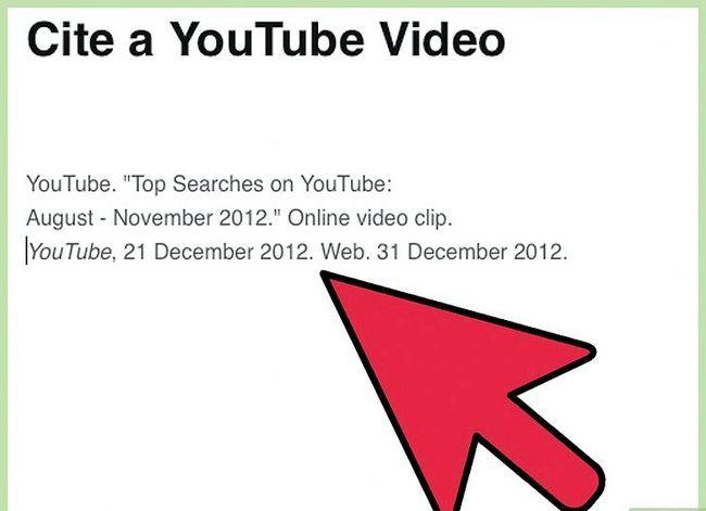 Prent getiteld Sit `n YouTube Video Stap 12