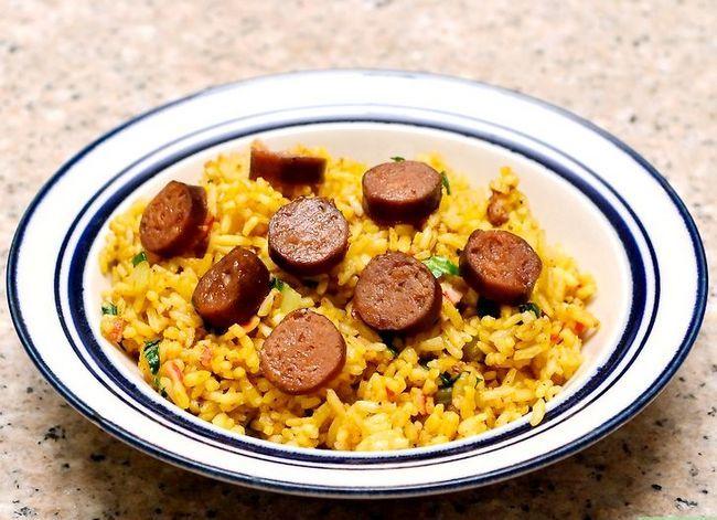 Prent getiteld Cook Chorizo Stap 13