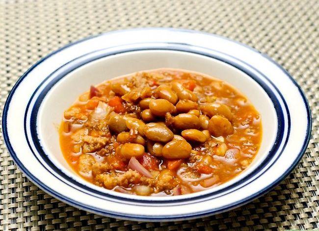 Prent getiteld Cook Chorizo Stap 15