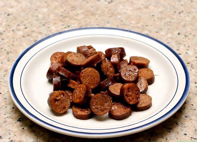 Beeld getiteld Cook Final Chorizo