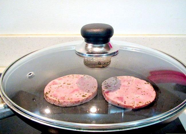 Image getiteld Cook Ham Steak Stap 5
