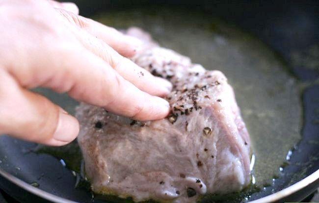 Prent getiteld Cook Filet Mignon Stap 28