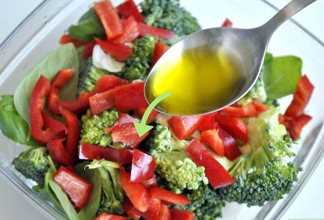 Prent getiteld Kook Vegetariese Pasta Stap 2