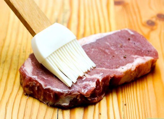 Prent getiteld Kook Medium Skaars Steak Stap 6