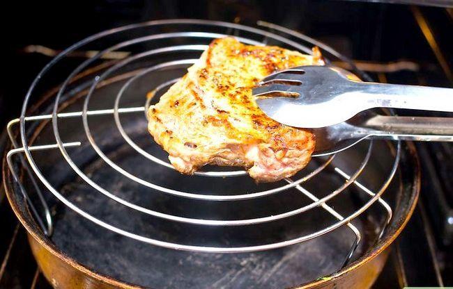 Prent getiteld Cook Tri Wenk Steak Stap 4