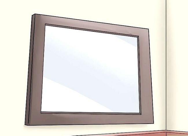 Prent getiteld Gebruik Mirrors vir Good Feng Shui Stap 3