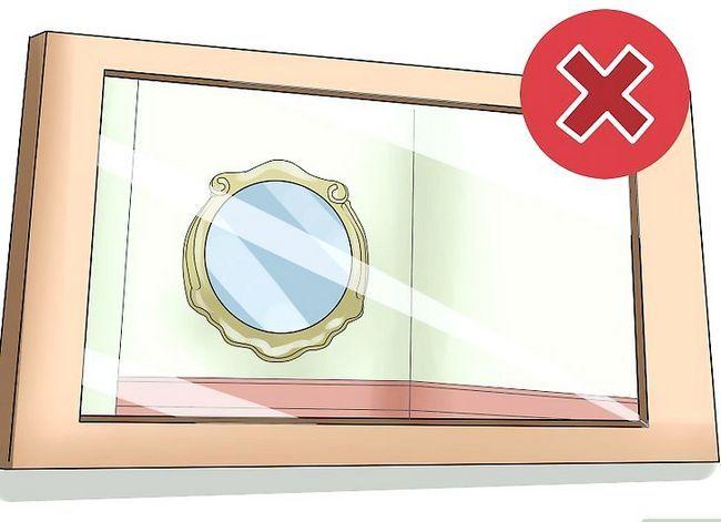 Prent getiteld Gebruik Mirrors vir Good Feng Shui Stap 8