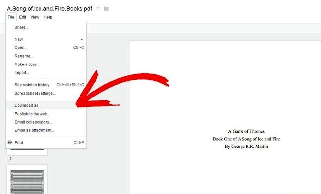 Prent getiteld Plaas `n Google Doc op `n Flash Drive Stap 3