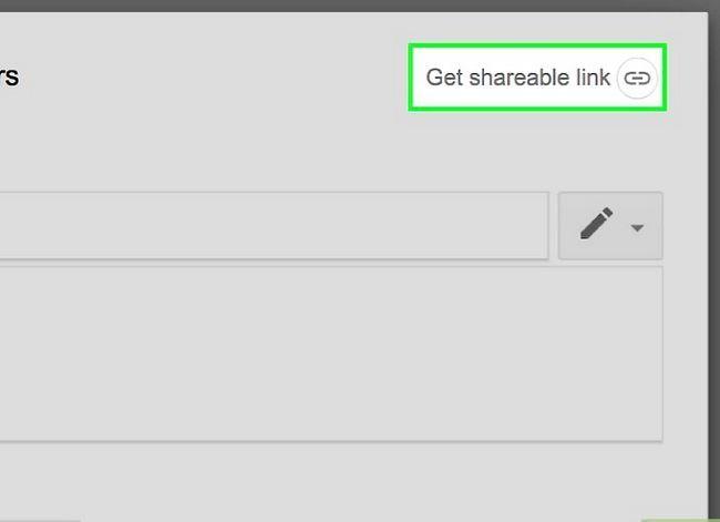 Prent getiteld Deel groot lêers op Google Drive Stap 7