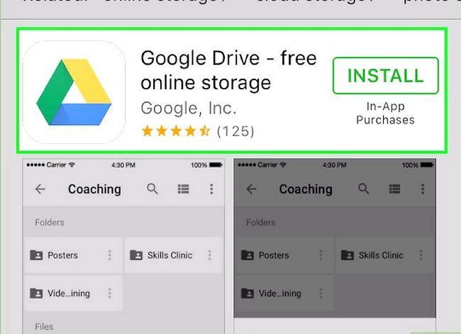 Prent getiteld Deel groot lêers op Google Drive Stap 9
