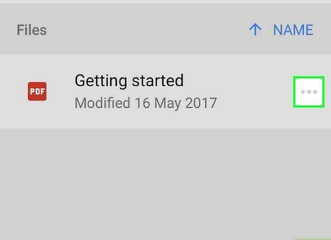 Prent getiteld Deel groot lêers op Google Drive Stap 10