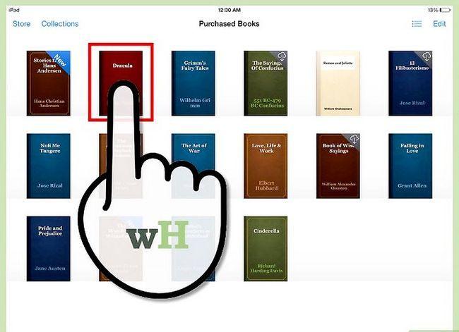 Prent getiteld Deel Boeke op iPad Stap 2