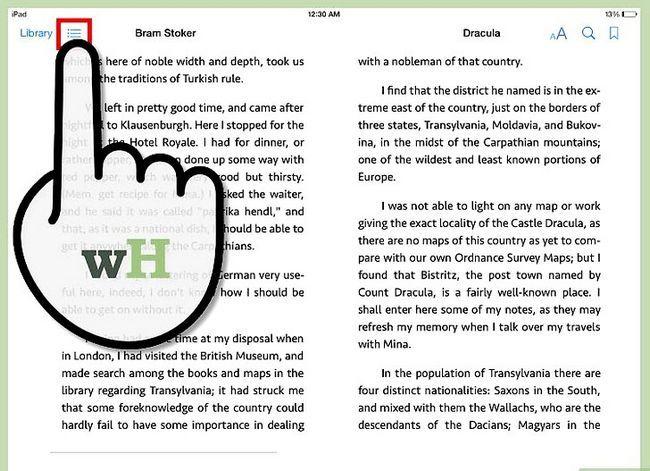 Prent getiteld Deel Boeke op iPad Stap 3