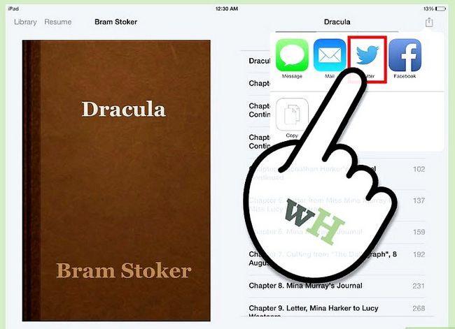 Prent getiteld Deel Boeke op iPad Stap 5