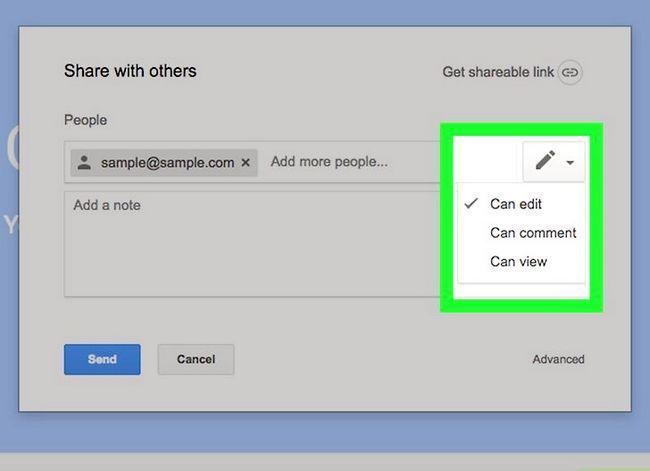 Prent getiteld Deel `n Google Drive-lêer Stap 12