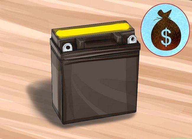 Beeld getiteld Koop Motorfiets Batterye Stap 1