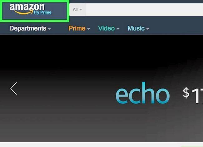 Prent getiteld Koop op Amazon Stap 1