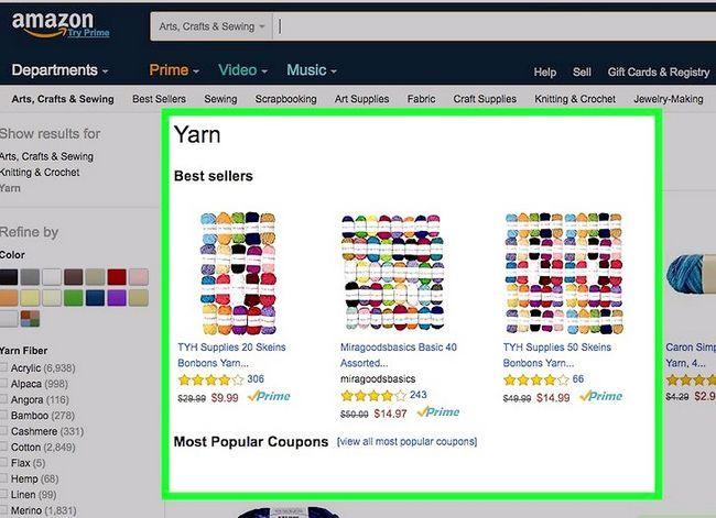Prent getiteld Koop op Amazon Stap 13