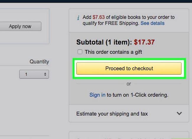 Prent getiteld Koop op Amazon Stap 18