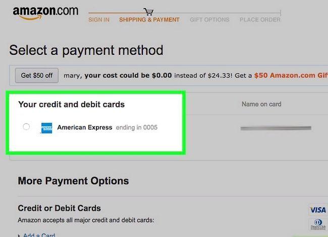 Prent getiteld Koop op Amazon Stap 20