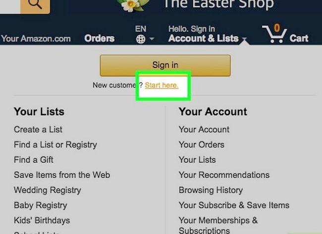 Prent getiteld Koop op Amazon Stap 3