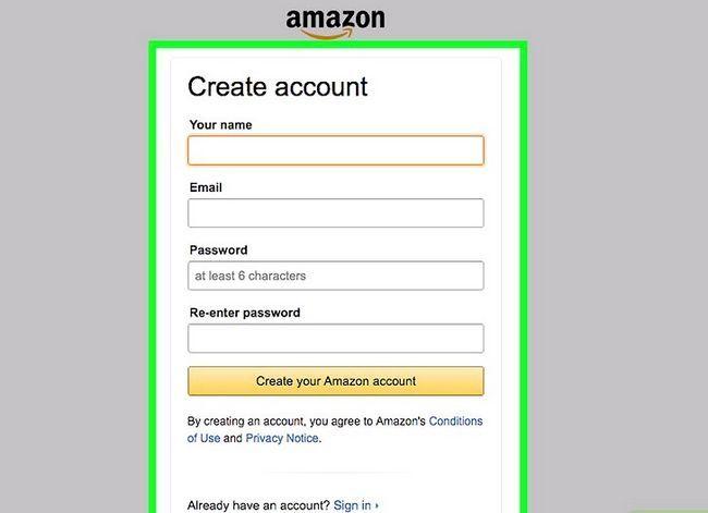 Prent getiteld Koop op Amazon Stap 4