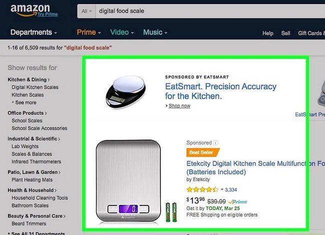 Prent getiteld Koop op Amazon Stap 10
