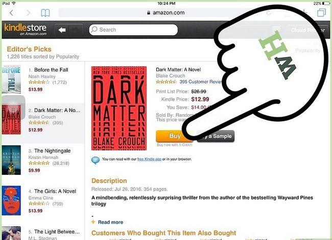 Prent getiteld Koop Kindle Boeke op die iPad Stap 11