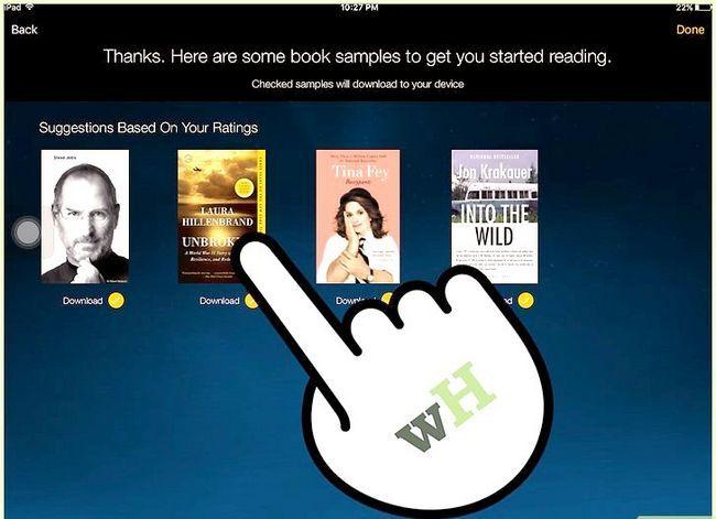 Prent getiteld Koop Kindle Boeke op die iPad Stap 14