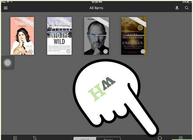 Prent getiteld Koop Kindle Boeke op die iPad Stap 17