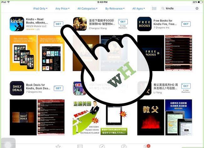 Prent getiteld Koop Kindle Boeke op die iPad Stap 3