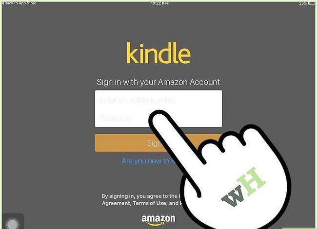 Prent getiteld Koop Kindle Boeke op die iPad Stap 6