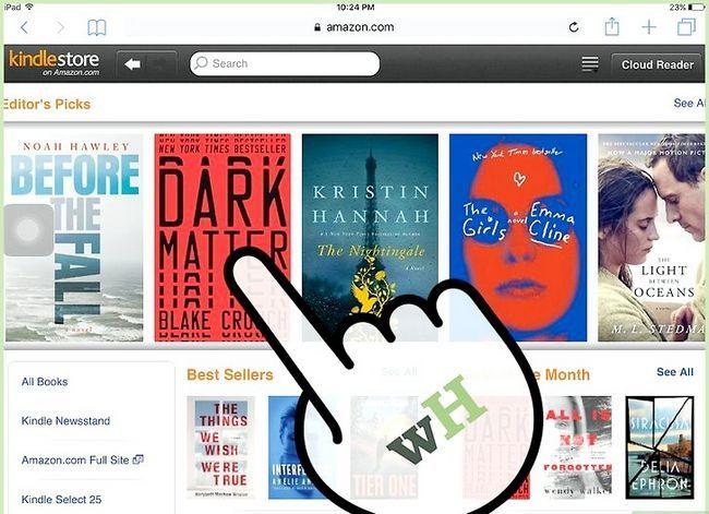 Prent getiteld Koop Kindle Boeke op die iPad Stap 10