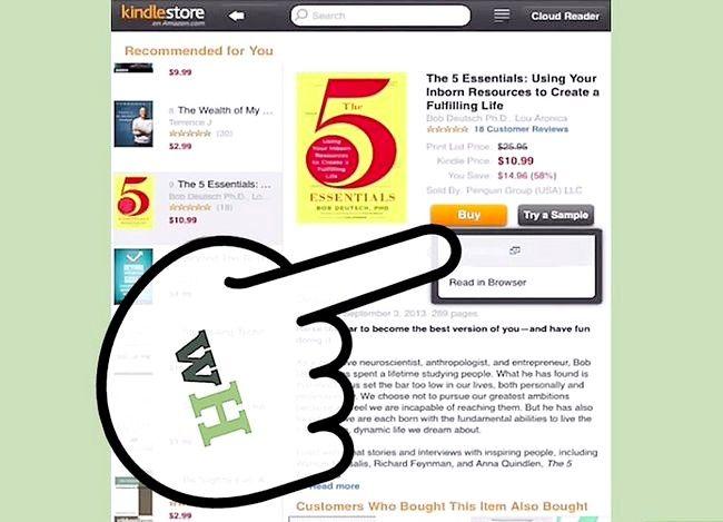 Beeld getiteld Boeke koop vir jou Kindle Stap 13