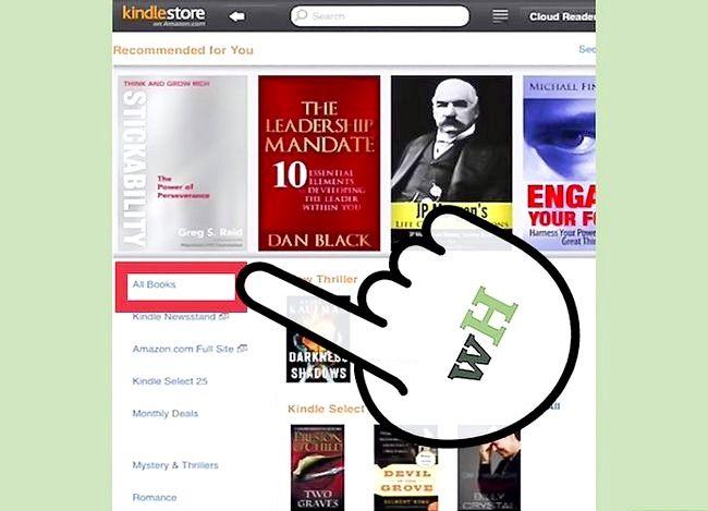 Prent getiteld Boeke koop vir jou Kindle Stap 5