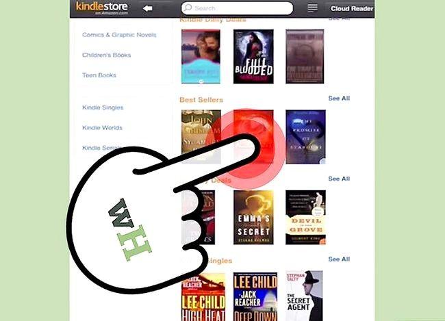 Beeld getiteld Boeke koop vir jou Kindle Stap 7